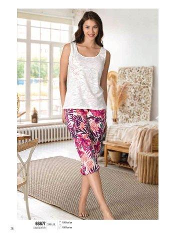 Yaz Pijama Loungewear NBB 66677