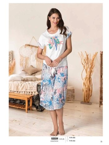 Yaz Pijama Loungewear NBB 66684