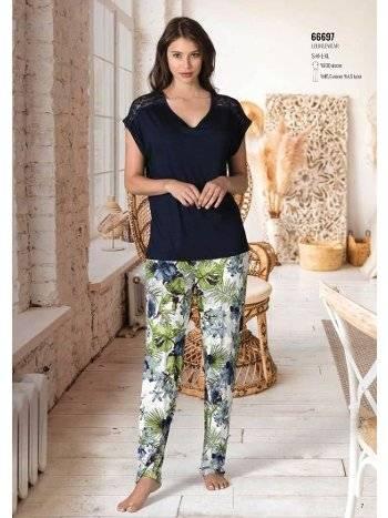 Yaz Pijama Loungewear NBB 66697