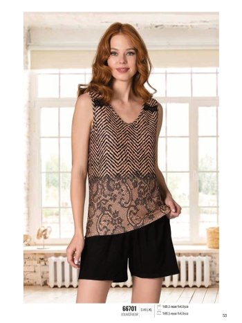 Yaz Pijama Loungewear NBB 66701