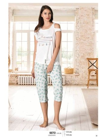 Yaz Pijama Loungewear NBB 66713