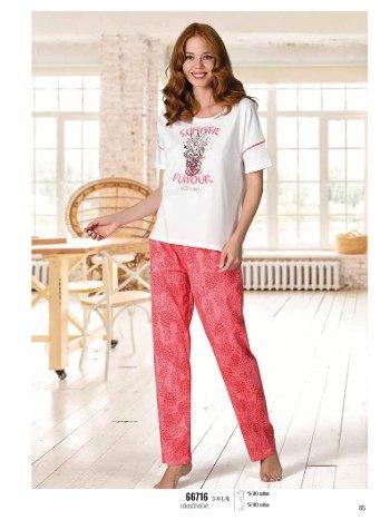 Yaz Pijama Loungewear NBB 66716