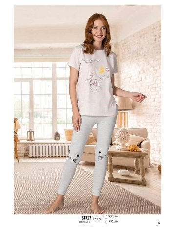 Yaz Pijama Loungewear NBB 66727