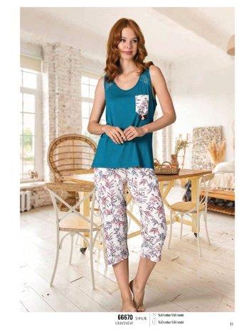 Yazlık Pijama Loungewear NBB 66670
