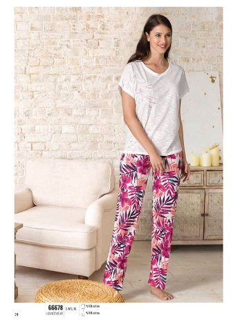 Yazlık Pijama Loungewear NBB 66678