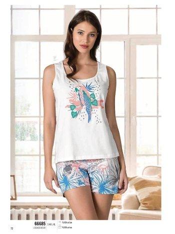 Yazlık Pijama Loungewear NBB 66685