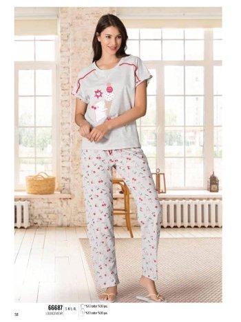 Yazlık Pijama Loungewear NBB 66687