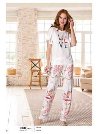 Yazlık Pijama Loungewear NBB 66689
