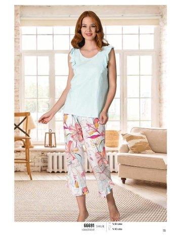 Yazlık Pijama Loungewear NBB 66691
