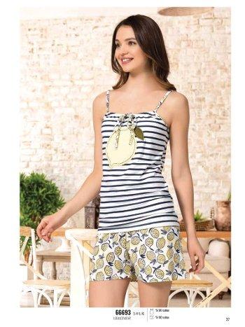 Yazlık Pijama Loungewear NBB 66693