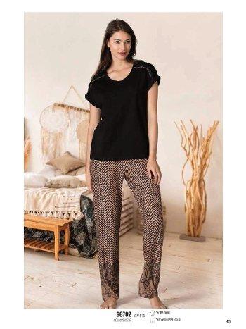 Yazlık Pijama Loungewear NBB 66702