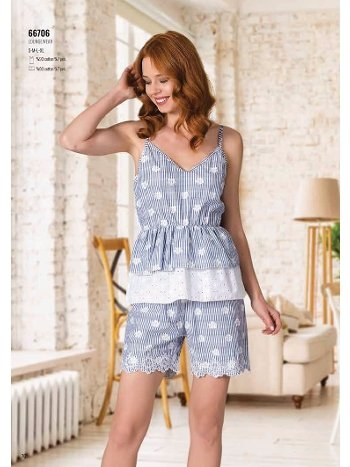 Yazlık Pijama Loungewear NBB 66706