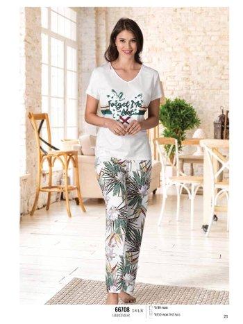 Yazlık Pijama Loungewear NBB 66708
