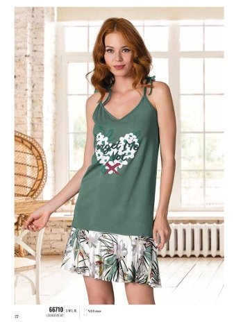 Yazlık Pijama Loungewear NBB 66710