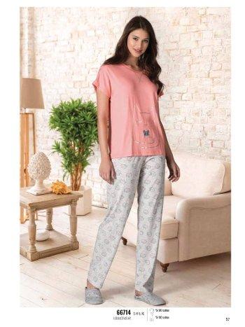 Yazlık Pijama Loungewear NBB 66714