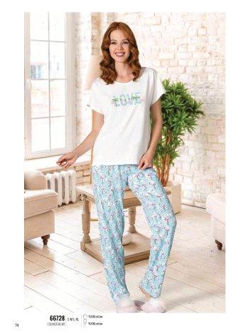 Yazlık Pijama Loungewear NBB 66728