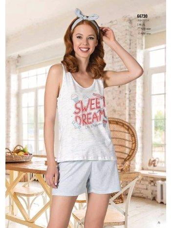 Yazlık Pijama Loungewear NBB 66730
