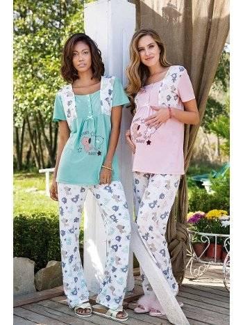 Yeni İnci BPJ1294 Kadın Pijama
