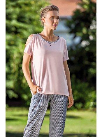 Yeni İnci BPJ1492 Kısa Kollu Kadın Pijama Takım
