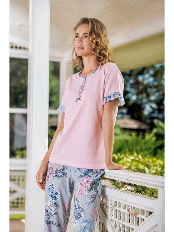 Yeni İnci BPJ1520 Patlı Bayan Pijama Takım