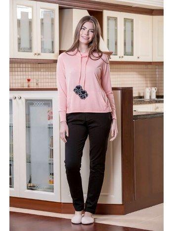 Yeni İnci BPJ1588 2'li Viskon Kadın Pijama Takımı