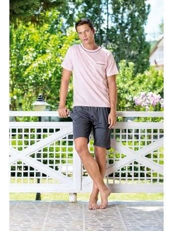 Yeni İnci EPJ714 Viskon 3lü Erkek Pijama Takımı