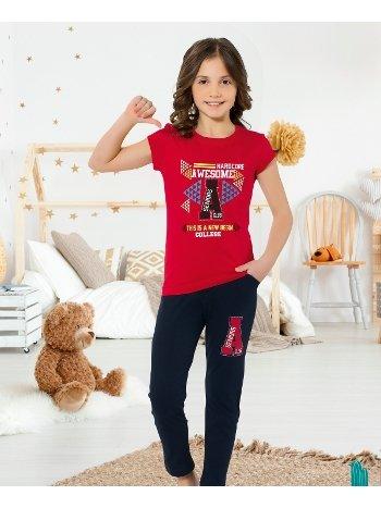 Yuppi Kız Çocuk Pijama Takım HMD 6086