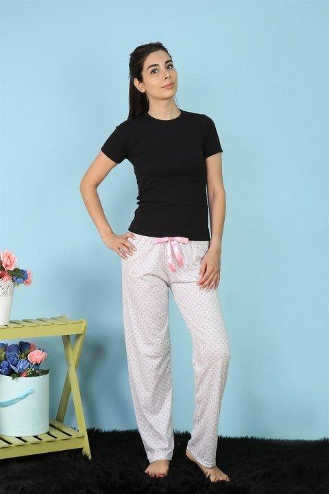 Akbeniz Bayan Tek Alt Pijama 27155