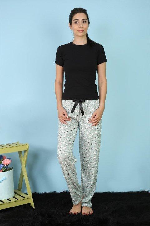 Akbeniz Bayan Tek Alt Pijama 27168