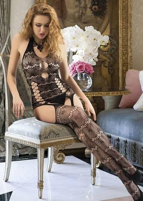 Asilce 1010 Siyah Vücut Çorabı