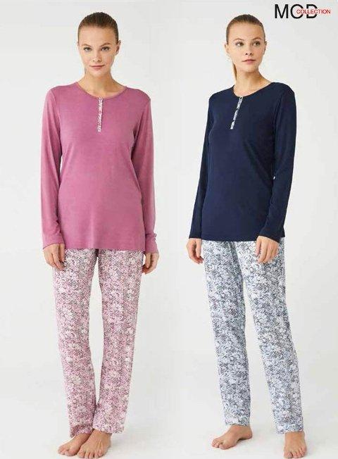 Bayan Pijama Takım Mod Collection 3402