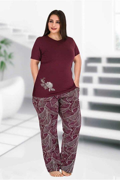 Berland 3091 Büyük Beden Bayan Pijama Takımı