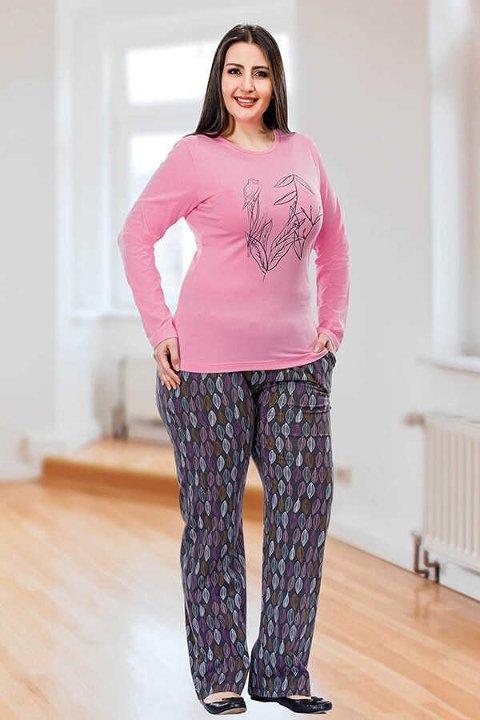 Berland 3093 Büyük Beden Bayan Pijama Takımı