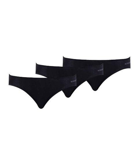 BlackSpade Essential Kadın Slip Külot Siyah 3'lü Paket 1574