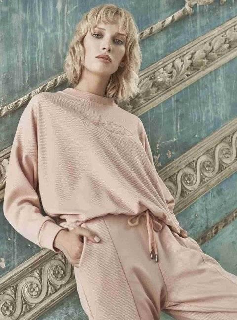 Çift Taraflı Giyilebilen Kışlık Bayan Pijama Takımı Miss Loren 2002