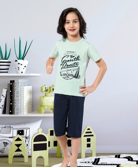 Erkek Çocuk Kapri Takımı Yuppi HMD 5440