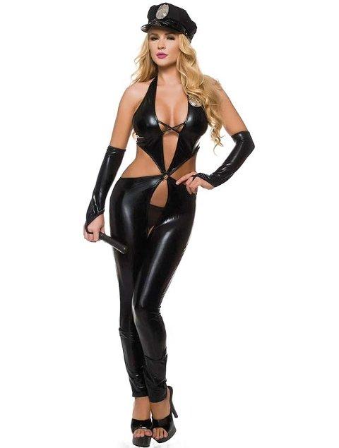 For Dreams 8217 Lame Erotik Polis Kıyafeti