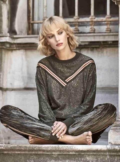Kadife Pijama Takım Miss Loren 2012