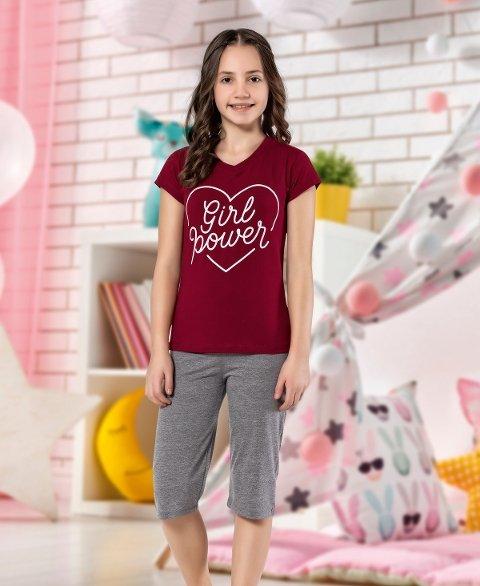 Kız Çocuk Kapri Takım Yuppi HMD 6109