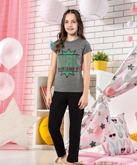 Kız Çocuk Kapri Takım Yuppi HMD 6121