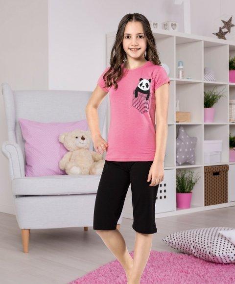 Kız Çocuk Kapri Takım Yuppi HMD 6123