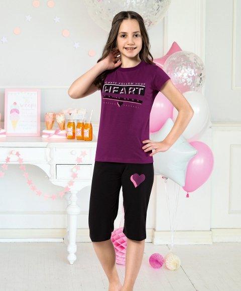 Kız Çocuk Kapri Takım Yuppi HMD 6124
