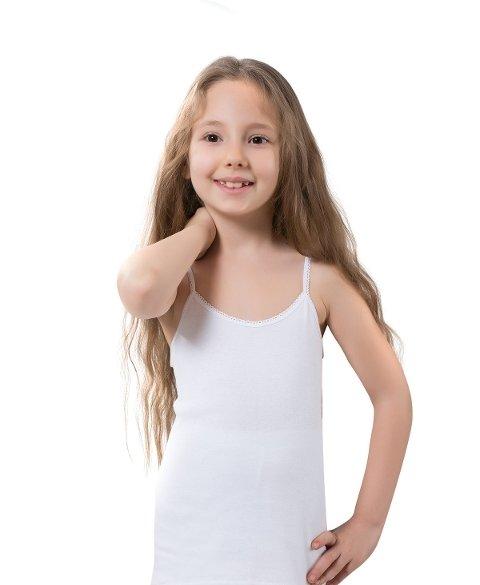 ip Askılı Kız Çocuk Atlet Lüx DRM 395