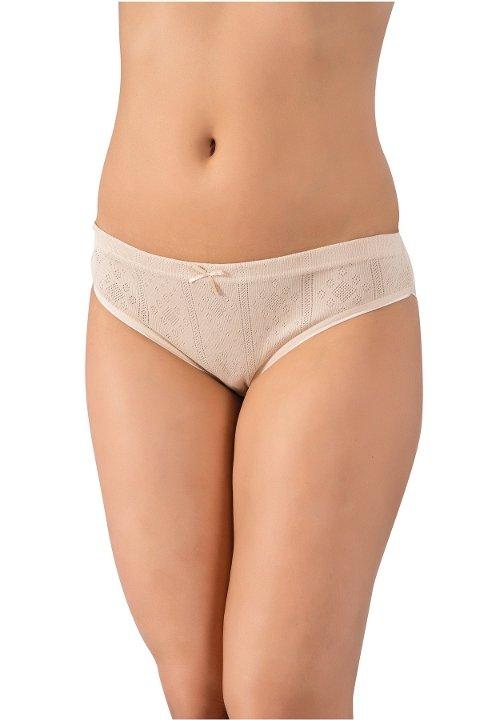 Jakarlı Bayan Bikini Külot Lüx DRM 099 - 5 Adet