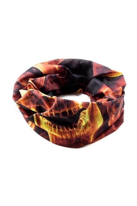 Maske Bandana Boyunluk: Head Extreme 12 Fonksiyon Fire Skull