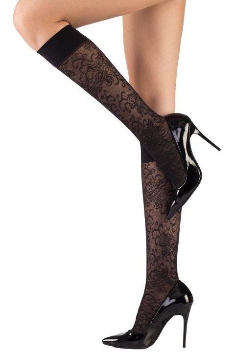 Mite Love Dizaltı Çorap Sonbahar Desenli ML-9480
