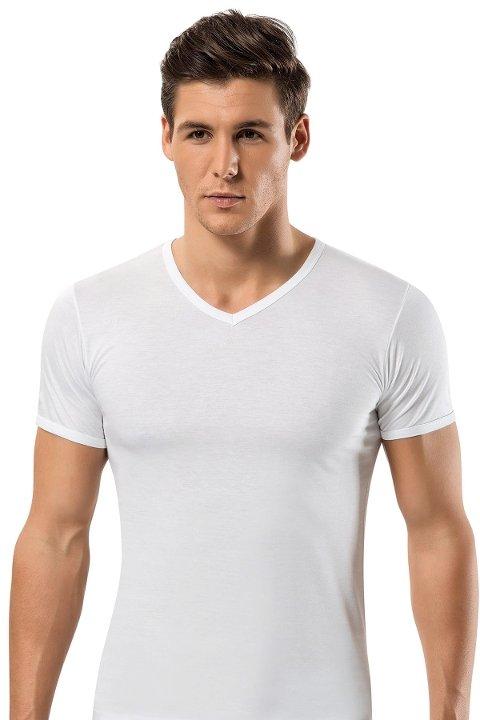 Modal V Vaka Erkek T-Shirt -3 lü Paket Erdem 1551