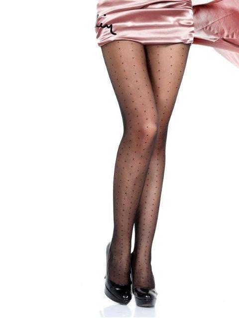 Pierre Cardin Lunetta 15 Den Likrali Desenli Külotlu Çorap