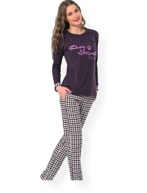 Pierre Cardin Mor Pijama Takımı 1012