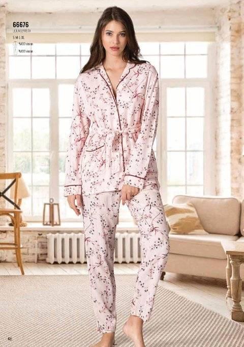 Yazlık Pijama Loungewear NBB 66676